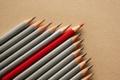 Картинка red, different, gray, unique, pencils