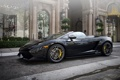 Картинка черный, Lamborghini, Gallardo, black, ламборгини, LP570-4, гайярдо
