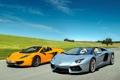 Картинка McLaren, Roadster, Lamborghini, Spyder, MP4-12C, LP700-4, Aventador