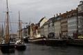 Картинка дома, лодки, причал, Копенгаген