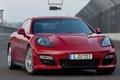 Картинка car, машина, трасса, track, 2012 Porsche Panamera GTS, 1920x1187