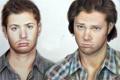 Картинка лицо, арт, сериал, парни, Supernatural, Jensen Ackles, Sam