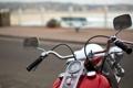 Картинка фон, мотоцикл, улица