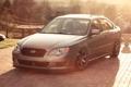 Картинка солнце, плитка, Subaru, серебристый, блик, субару, Legacy