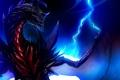 Картинка молния, монстер, combat, kaiju