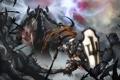 Картинка битва, diablo 3, рпг, крестоносец, Reaper of Souls, malthael