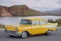 Картинка пейзаж, желтый, Chevrolet, Project X