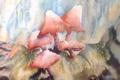 Картинка грибы, картина, акварель