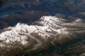 Картинка ледник, снимок, горы, космос, озеро