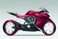 Картинка honda, красная, conceptcar