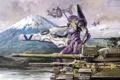 Картинка робот, танки, бой, оружие