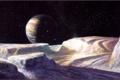 Картинка космос, планета, спутник, Боб Эгглетон