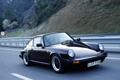 Картинка 911, Porsche, black, road, auto, walls, speed