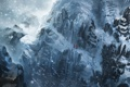 Картинка зима, горы, тропа, World of Legend