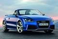 Картинка car, машина, небо, тачка, blue, AUDI TT RS