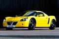 """Картинка машина, желтый, Vauxhall, передок, воксхолл, VX220, """"Lightning Yellow"""""""