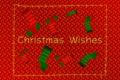 Картинка christmas, носки, новый год, happy new year, красный фон, снежинки, снег