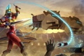 Картинка меч, броня, Gladiator, heroes of newerth, хлыст, URSA, Arctos