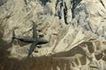 Картинка самолёт, военно-транспортный, ландшафт, Globemaster III, полет, C-17, стратегический