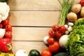 Картинка лук, перец, овощи, помидоры, капуста, огурцы, картофель
