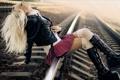 Картинка alternative girl on rails, на путях, девчушка