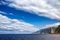Картинка облака, остров Мадейра, берег, Португалия, океан, небо, волны
