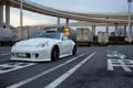 Картинка Nissan, white, 370z, vossen, stance