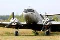 Картинка самолет, военно-транспортный, советский, Lisunov Li-2