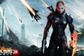 Картинка wallpaper, game, shepard, fight, mass, effect, nice