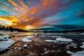 Картинка река, утро, Norway, Oslo, Oslo Fylke