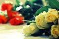 Картинка букет, желтый, розы, красный