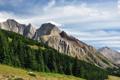 Картинка небо, деревья, горы, Alberta, Canada, Kananaskis