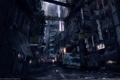 Картинка ночь, город, люди, улица, Syndicate, трущобы
