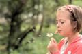 Картинка настроение, девочка, blowing dandelions