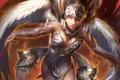 Картинка арт, крылья, девушка, legend of cryptids, ангел