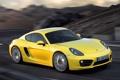 Картинка дорога, скорость, Porsche, Cayman, порше