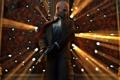 Картинка костюм, лысина, стена, Hitman, выстрел, оружие