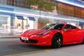 Картинка car, Ferrari, red
