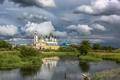 Картинка река, духовность, Николо-Шартомский монастырь