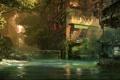 Картинка город, апокалипсис, здание, болото, Crysis 3