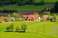 Картинка поле, дома, Австрия, Austria