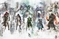 Картинка Wars, герои, GW2, Guild