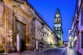 Картинка город, улица, здания, дома, вечер, Испания, Spain