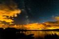 Картинка небо, звезды, облака, пейзаж