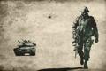 Картинка оружие, солдат, вертолет, танк, Battlefield