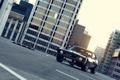 Картинка город, чёрный, Chevrolet, Camaro, шевроле, мускул кар, black