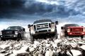Картинка небо, Ford, Форд, передок, Super Duty, F-350, пикап.джип.внедорожник