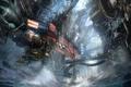 Картинка волны, вода, трубы, город, механизм, Killzone, Mercenary
