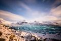 Картинка небо, снег, пейзаж, горы, ледник