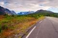 Картинка Дорога, Норвегия, осень, горы